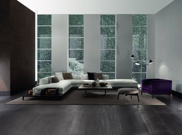 Elegant Contemporary Living Room Modern Living Rooms with Elegant and Clean Lines