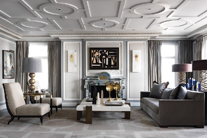 Elegant Contemporary Living Room sophisticated Living Room Designs by Jean Louis Deniot