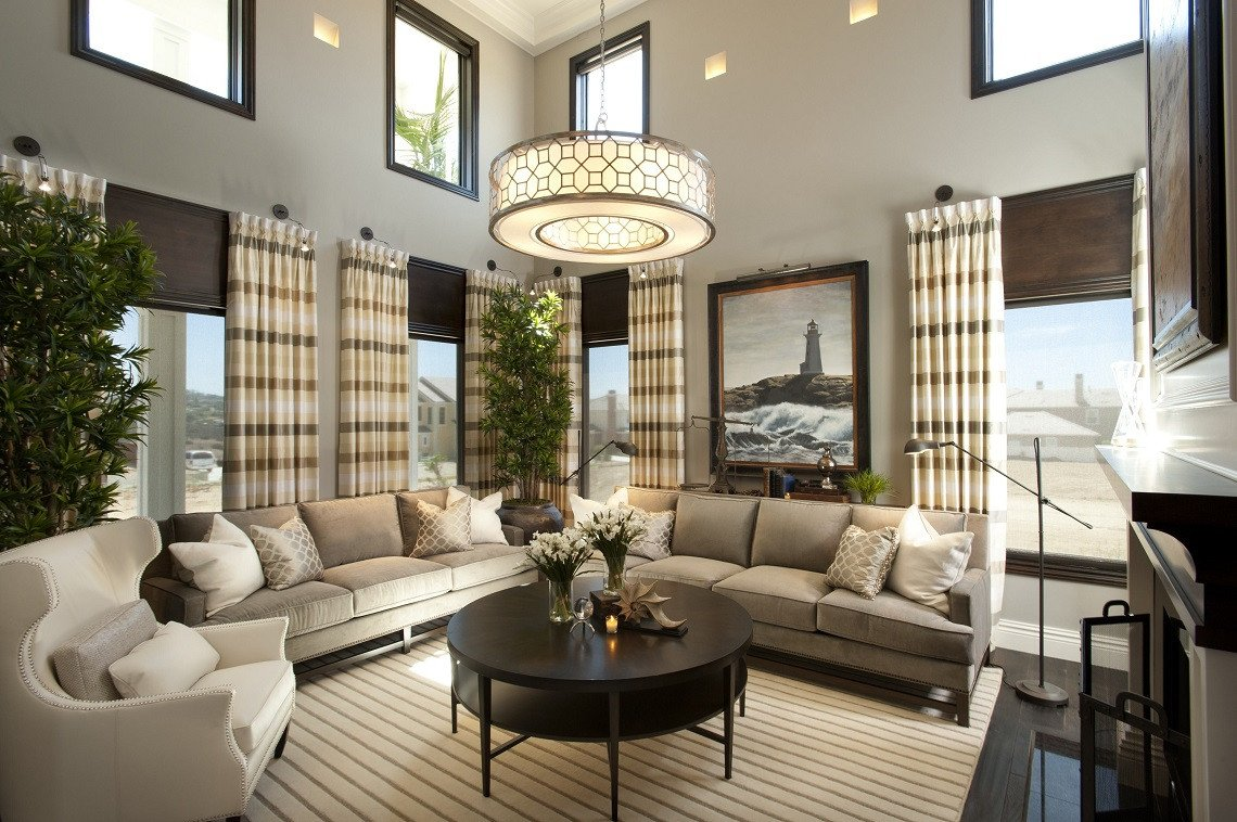 Expensive Modern Living Room Decorating Ideas Hamptons Inspired Luxury Living Room before and after