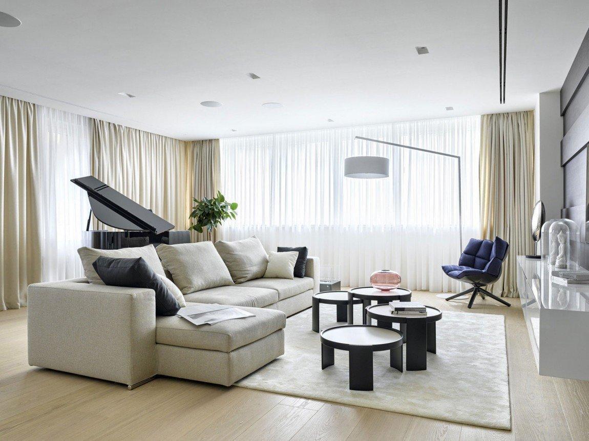Expensive Modern Living Room Decorating Ideas Room Ideas Luxury Apartment Design by Alexandra Fedorova