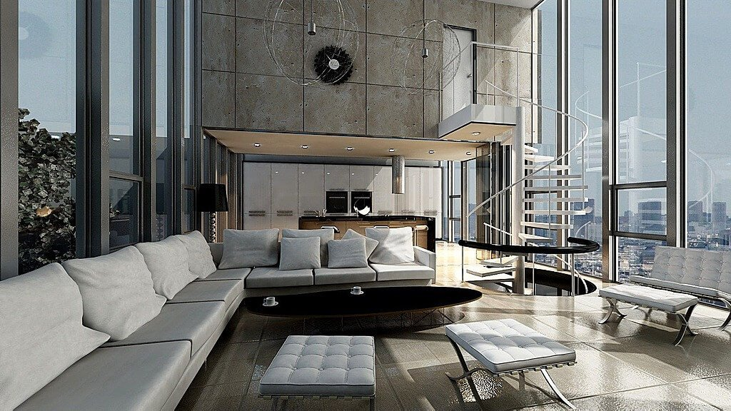 Extra Modern Living Room Decorating Ideas 45 Contemporary Living Rooms with Sectional sofas