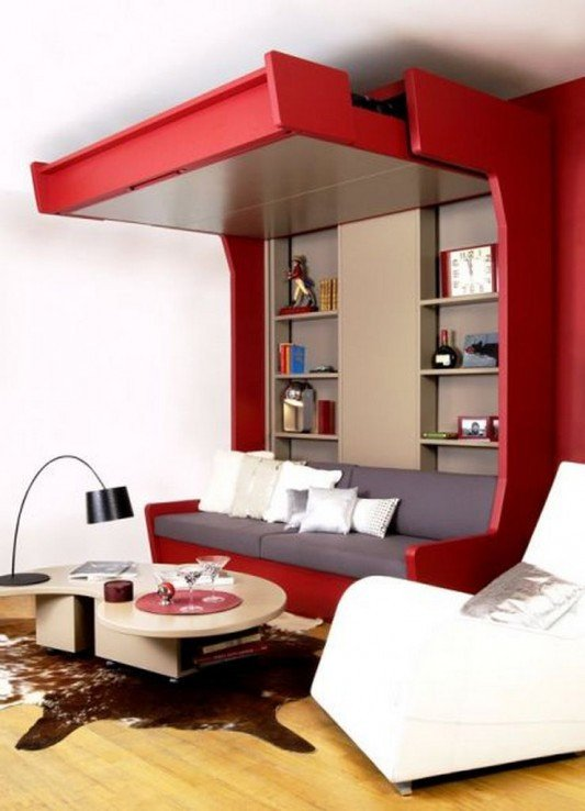 Extra Modern Living Room Decorating Ideas Extra Bed Design Decorating Ideas for Limited Space by