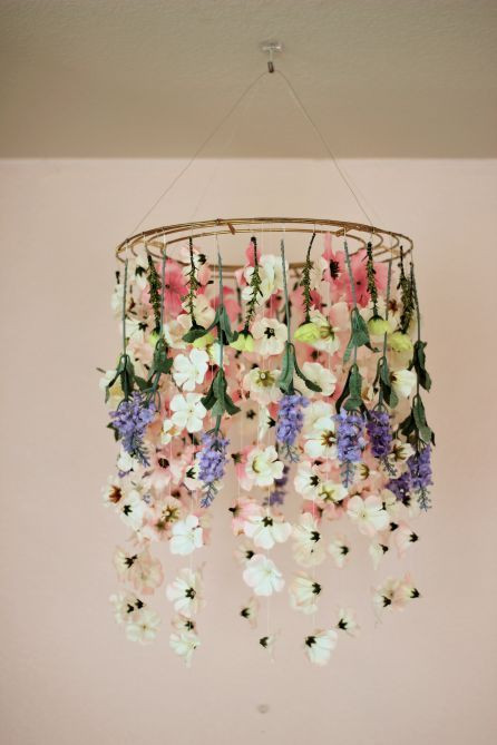 Fake Chandelier for Bedroom This Adorable Flower Chandelier is Perfect Decor for A