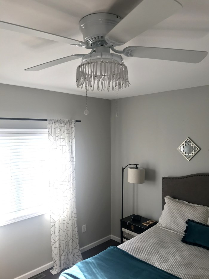Fan Size for Bedroom Anthropologie Inspired Ceiling Fan Update the Blue Door & More