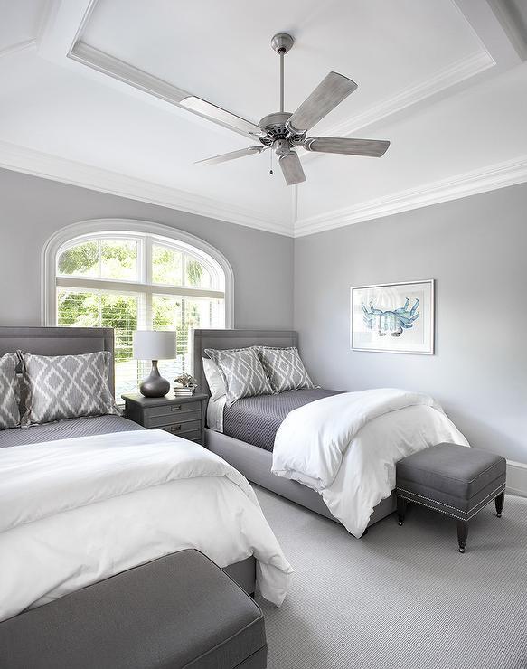 Fan Size for Bedroom Bedroom Tray Ceiling Fan Design Ideas