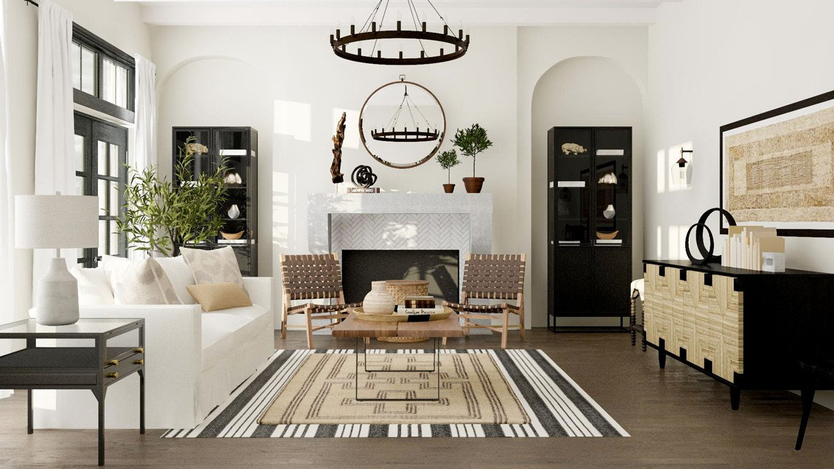 Farmhouse Contemporary Living Room How to Get the Modern Farmhouse Look