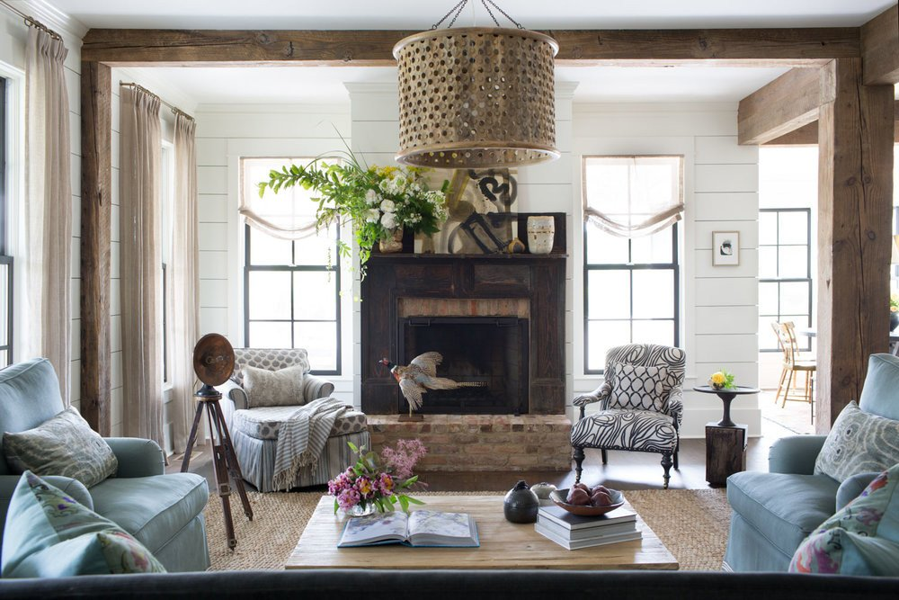 Farmhouse Contemporary Living Room Modern Farmhouse — Cloth & Kind