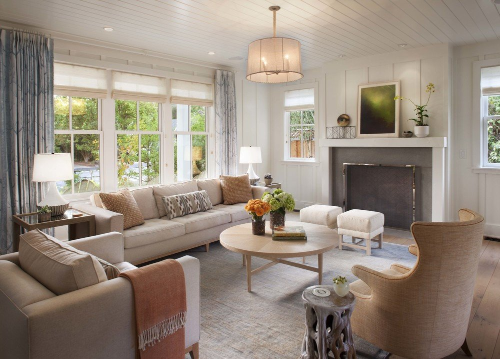 Farmhouse Contemporary Living Room Transform Your Home with Farmhouse Living Room