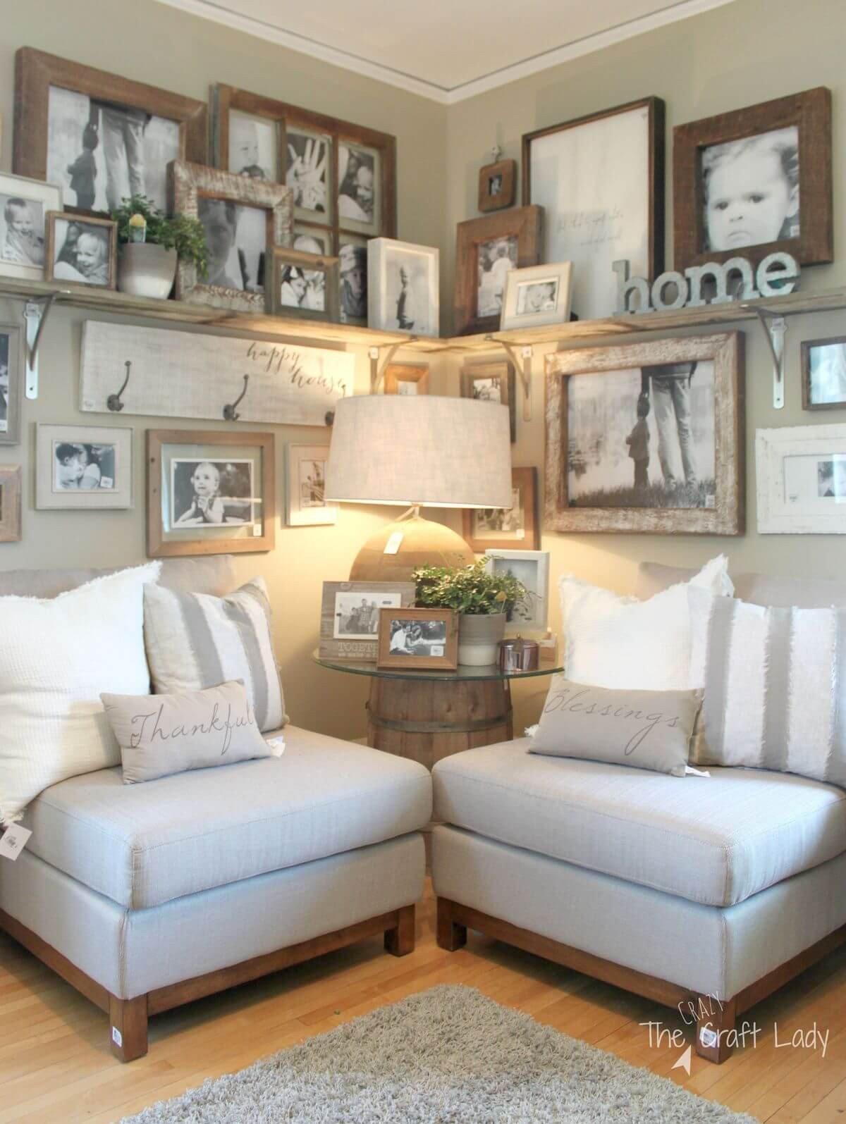 Farmhouse Living Room Curtains Decor Ideas 35 Best Farmhouse Living Room Decor Ideas and Designs for 2019