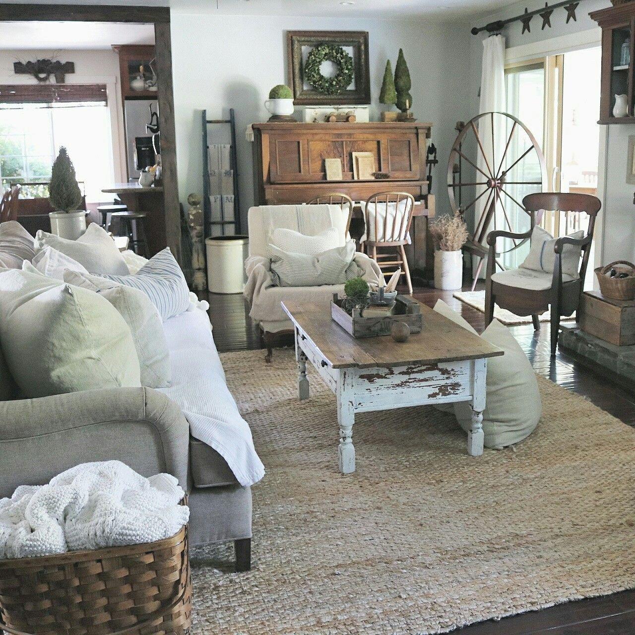 Farmhouse Living Room Curtains Decor Ideas Farmhouse Living Room at Home On Sweetcreek