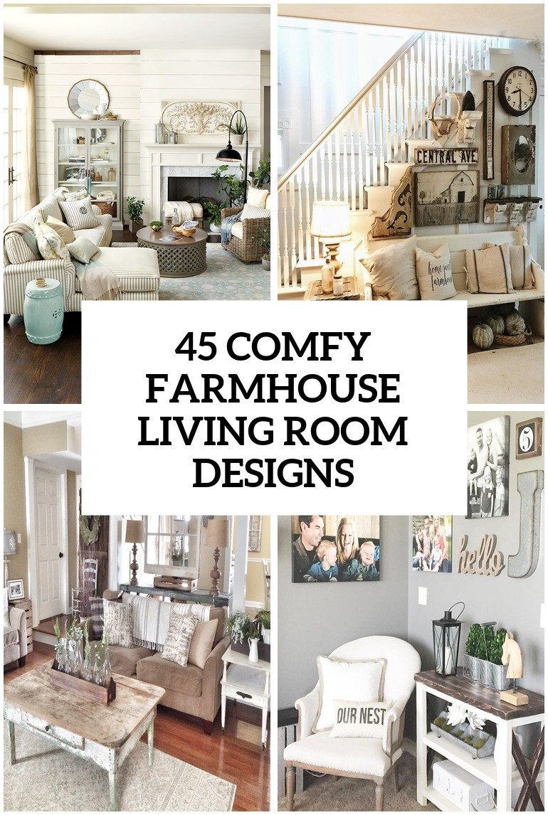 Farmhouse Living Room Decorating Ideas 45 Fy Farmhouse Living Room Designs to Steal Digsdigs