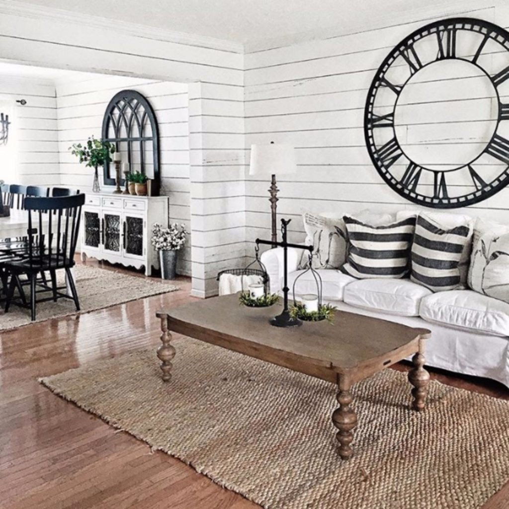 Farmhouse Living Room Decorating Ideas Farmhouse Living Rooms • Modern Farmhouse Living Room