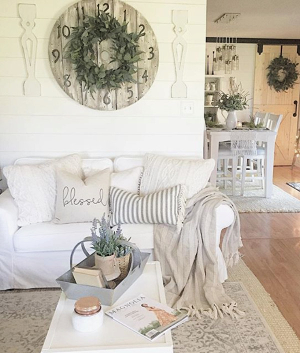 Farmhouse Living Room with Rug 13 Farmhouse Rugs You Can Actually Afford Lolly Jane