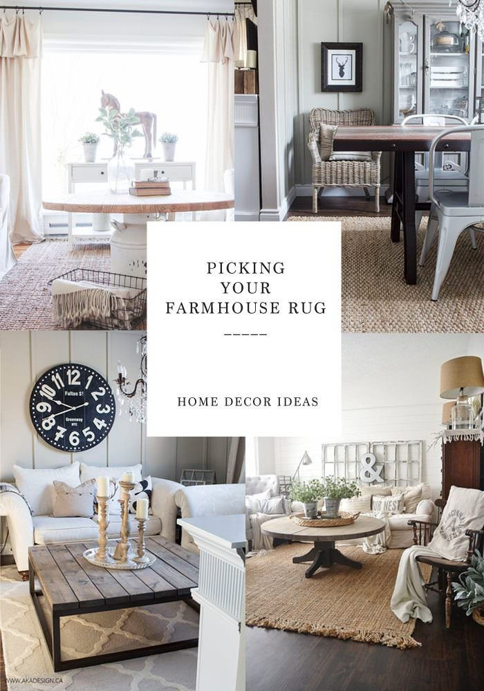 Farmhouse Living Room with Rug Finding the Perfect Farmhouse Rug Lynzy & Co