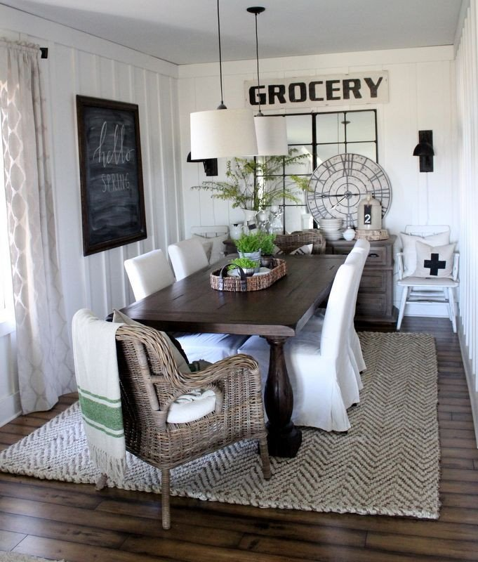 Farmhouse Living Room with Rug Sweet and Spicy Bacon Wrapped Chicken Tenders