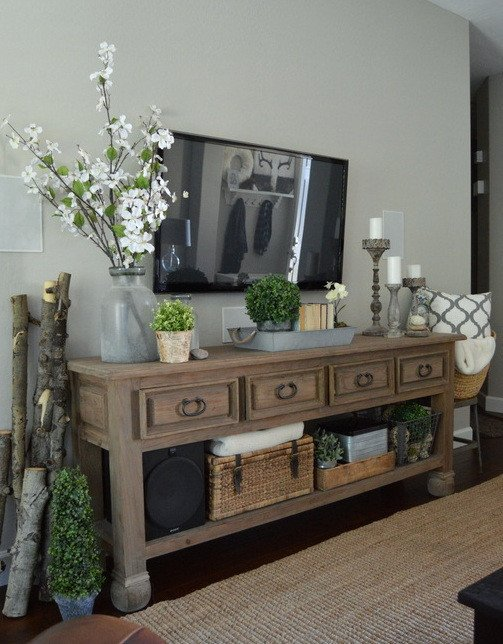 Farmhouse Tv Stand Design Ideas and Decor 16 Chic Details for Cozy Rustic Living Room Decor Style
