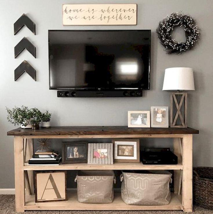Farmhouse Tv Stand Design Ideas and Decor 60 Beautiful Farmhouse Tv Stand Design Ideas and Decor