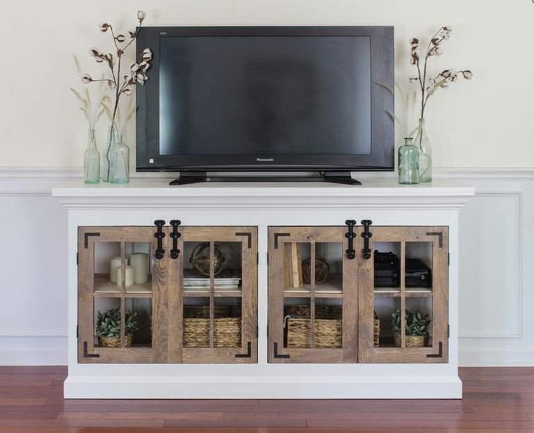 Farmhouse Tv Stand Design Ideas and Decor 9 Free Tv Stand Plans You Can Diy Right now