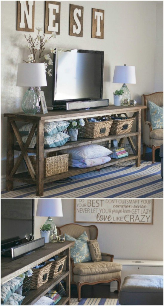 Farmhouse Tv Stand Design Ideas and Decor Give Your Media Center A Diy Makeover with these 10