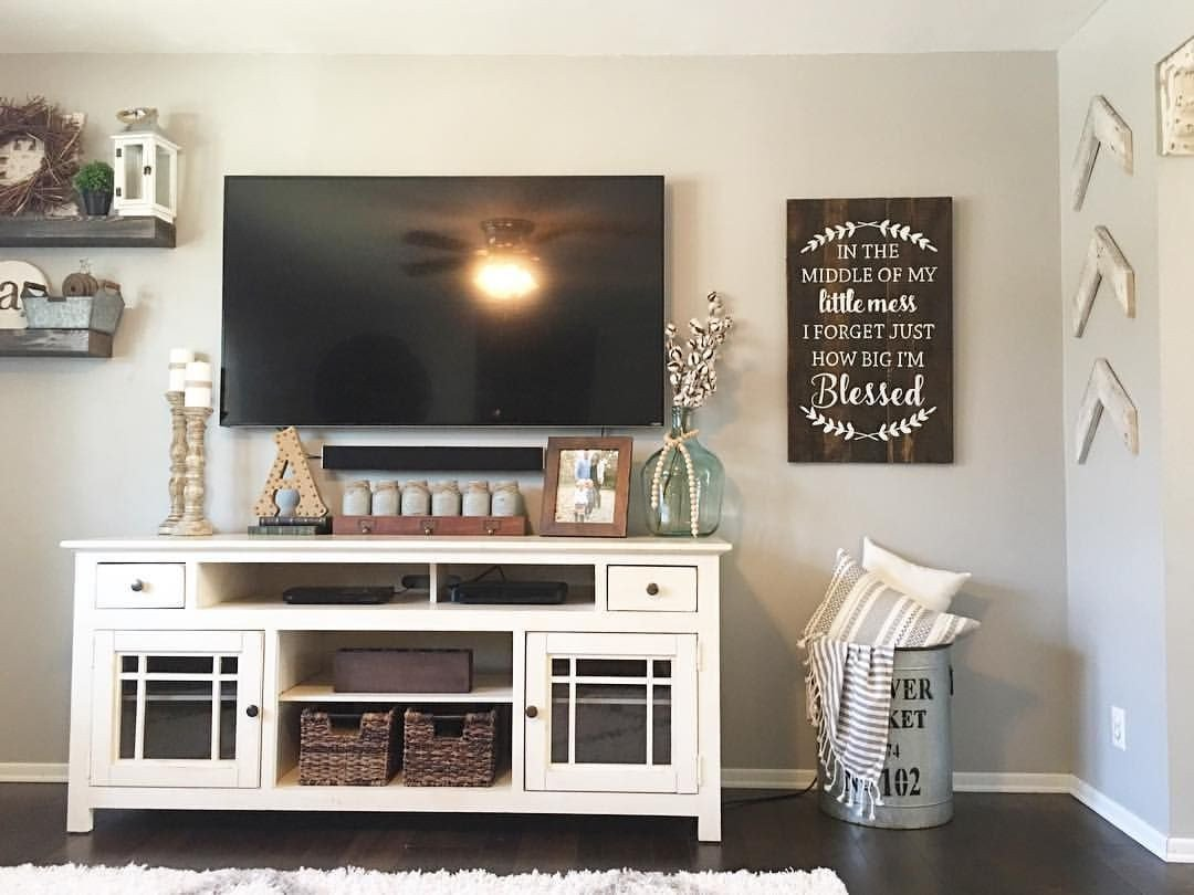 Farmhouse Tv Stand Design Ideas and Decor Living Room Decor Farmhouse Style Farmhouse Decor