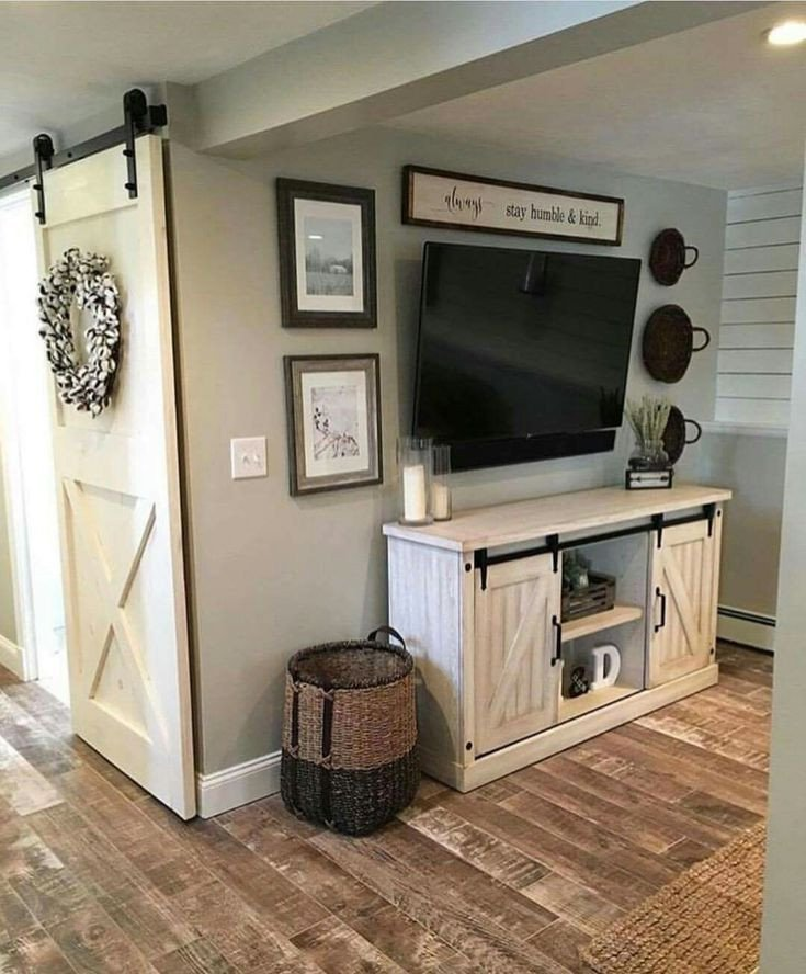 Farmhouse Tv Stand Design Ideas and Decor Pin by Frugallyfantastic On Home Decor Ideas