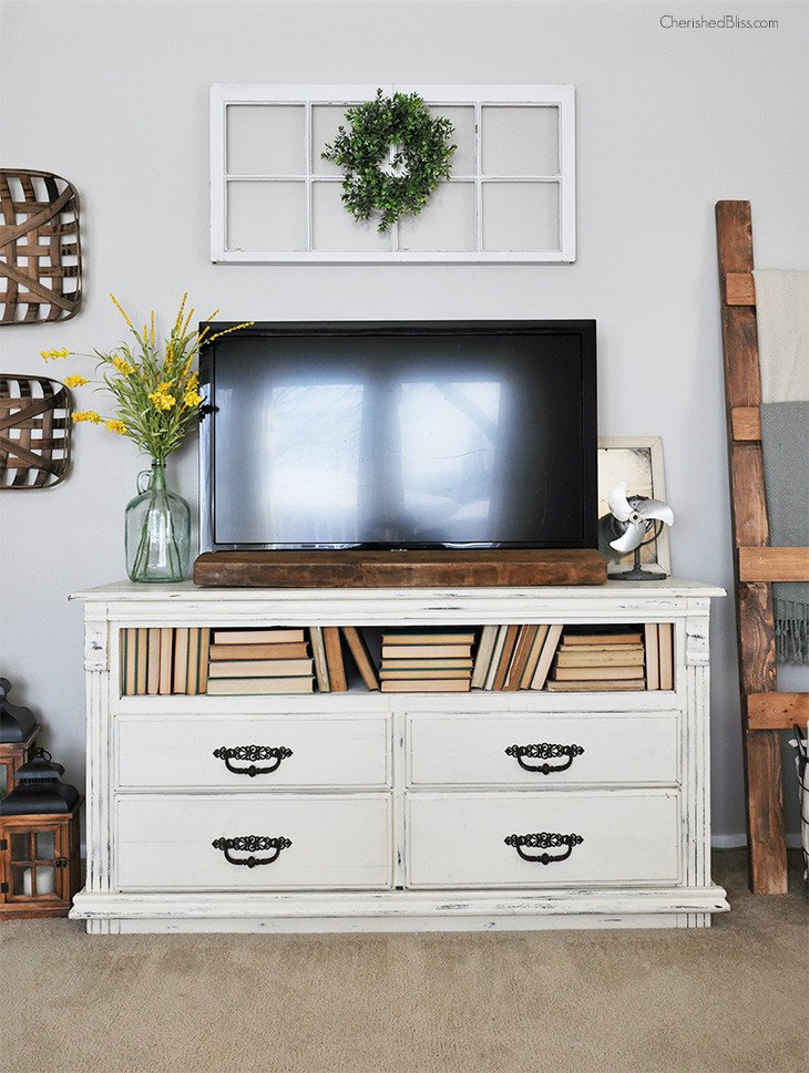 Farmhouse Tv Stand Design Ideas and Decor Tips for Decorating Around A Tv