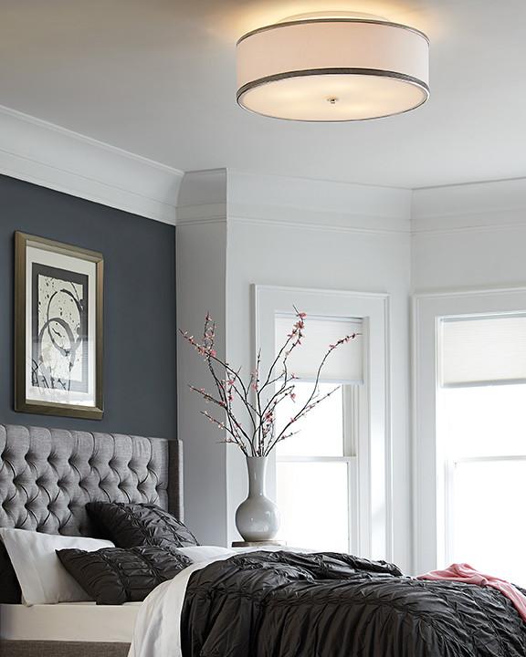 Flush Mount Bedroom Ceiling Light Master Bedroom Lighting Guide Flip the Switch