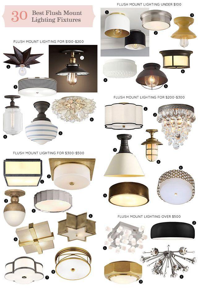 Flush Mount Bedroom Ceiling Light the 30 Best Flush Mount Lighting Fixtures Making It Lovely