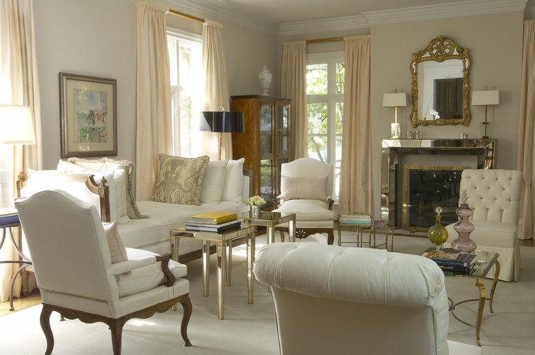 French Contemporary Living Room Alex Richardson