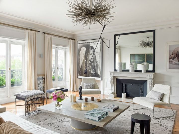 French Contemporary Living Room Gorgeous Modern French Interiors 40 Pics