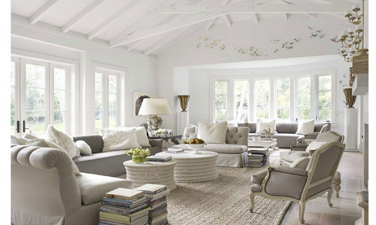 French Contemporary Living Room Living Room Styles