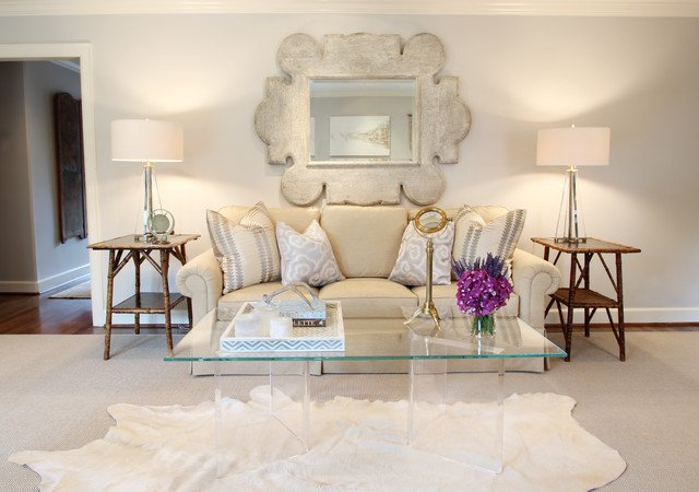 French Contemporary Living Room Memorial French Modern Traditional Living Room