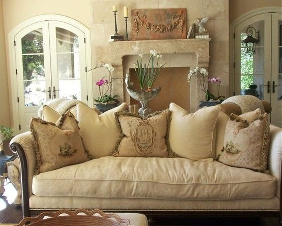 French Country Decor Living Room New Home Interior Design French Country Style