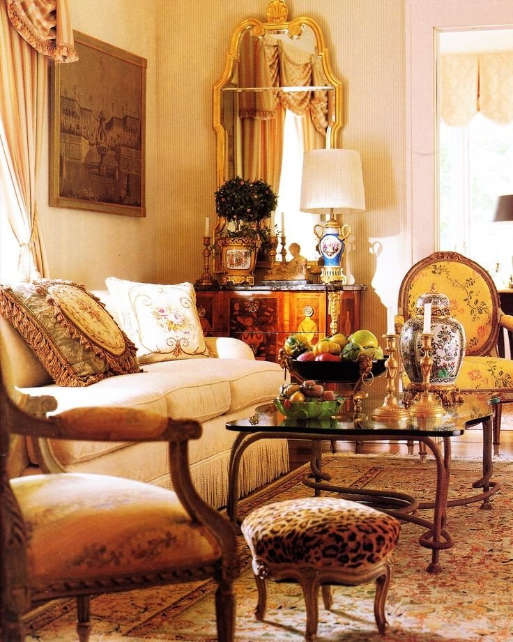 French Country Decor Living Room these Living Rooms are total Decor Goals رسم