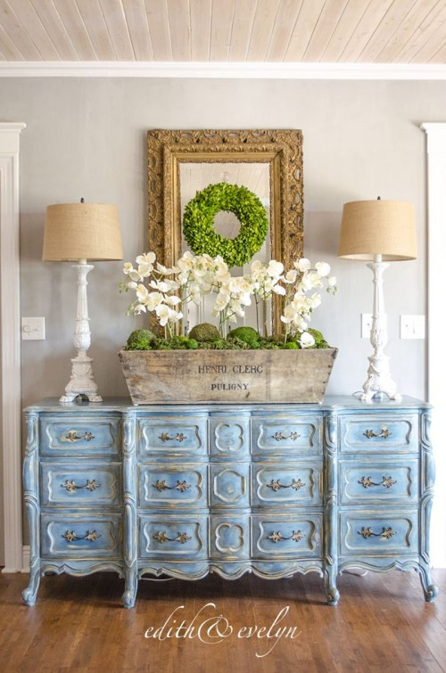 French Provincial Bedroom Furniture A Blue French Provincial Dresser