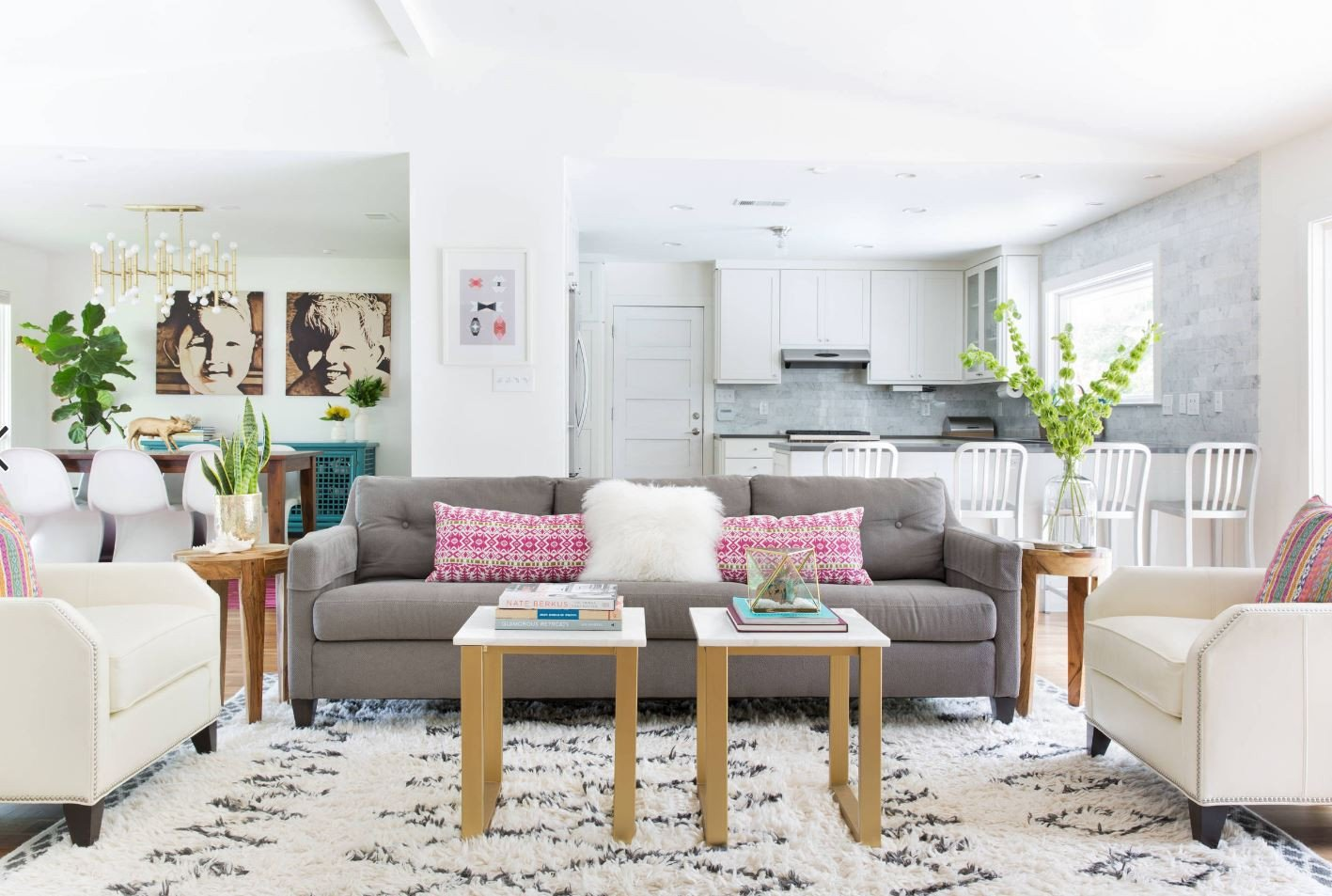 Fun Living Room Decorating Ideas 3 Ways to Brighten Your Home for Spring