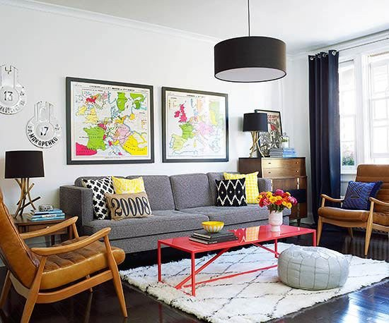 Fun Living Room Decorating Ideas before and after A Modern Makeover for A Small Apartment