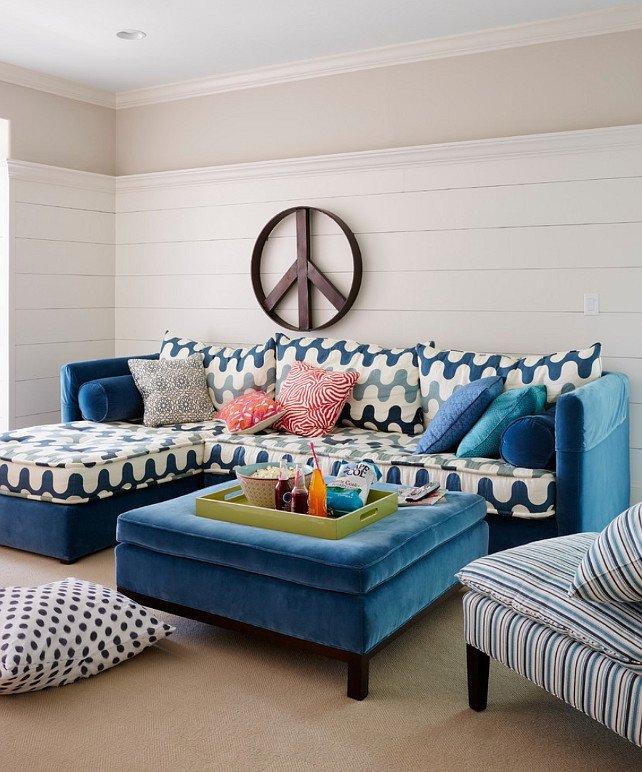 Fun Living Room Decorating Ideas Colorful Coastal Interiors Home Bunch Interior Design Ideas