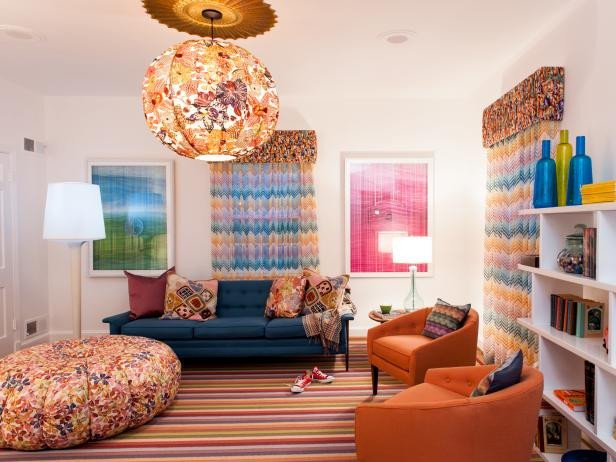 Fun Living Room Decorating Ideas Eclectic Teen Rooms