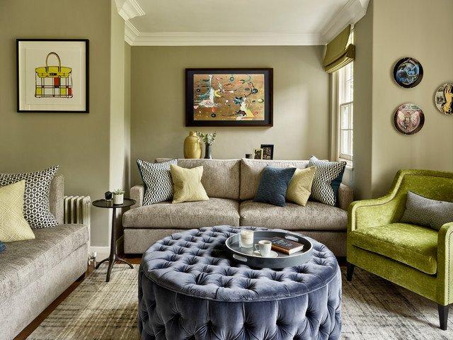 Fun Living Room Decorating Ideas Family Fun Meets Moody Members Club Midcentury Living