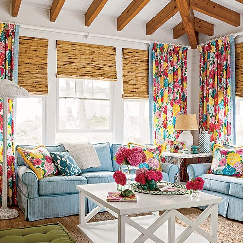 Fun Living Room Decorating Ideas Have Fun with Color Coastal Living