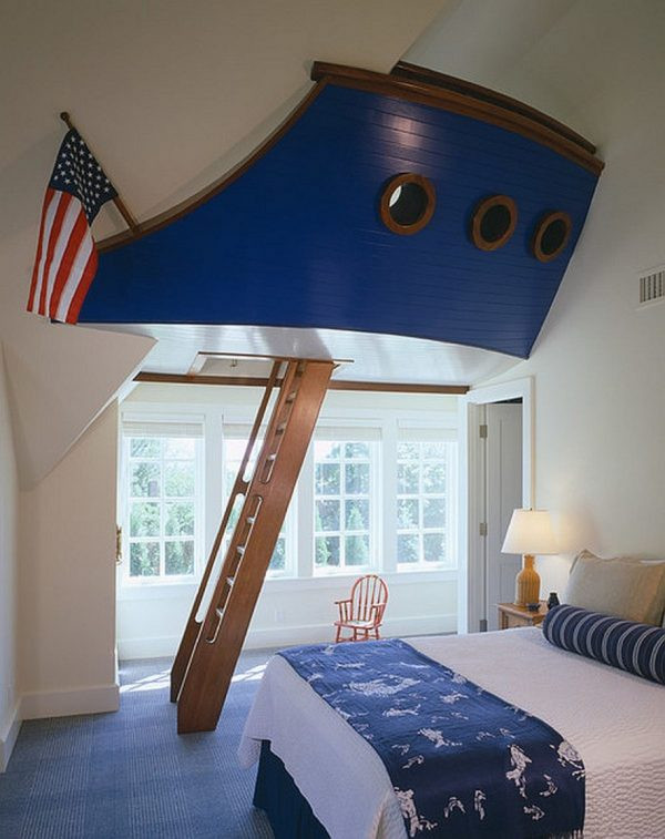 Fun Nautical Bedroom Decor Ideas 25 Amazing Boat themed Bedroom Ideas Nautical Beds