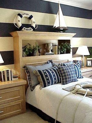 Fun Nautical Bedroom Decor Ideas Creating A Bedroom Decor Around Nautical Bedding