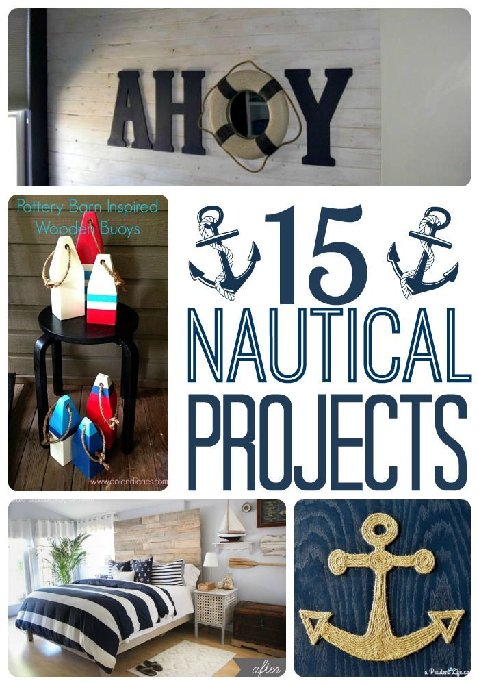Fun Nautical Bedroom Decor Ideas Diy Home Decor Projects Diy Nautical Decor Roundup A