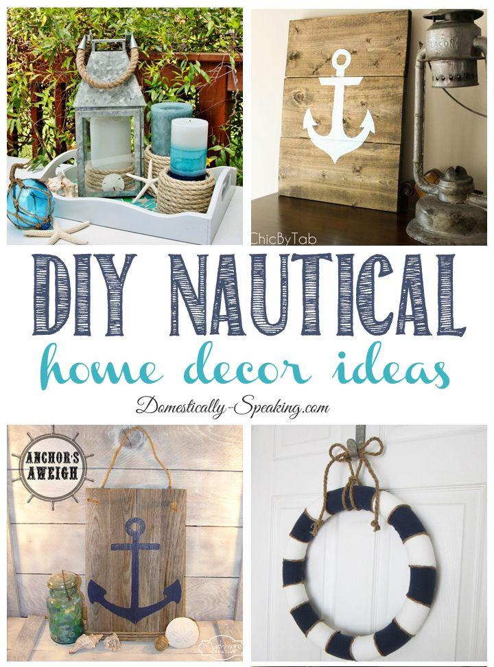 Fun Nautical Bedroom Decor Ideas Diy Nautical Home Decor Friday Features