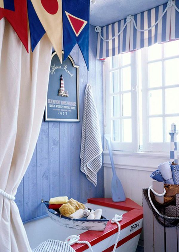 Fun Nautical Bedroom Decor Ideas Ideas for Nautical Bathroom Décor
