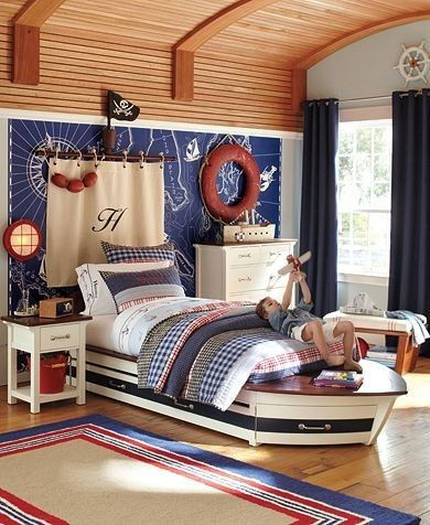 Fun Nautical Bedroom Decor Ideas Kids Room Ceiling Ideas