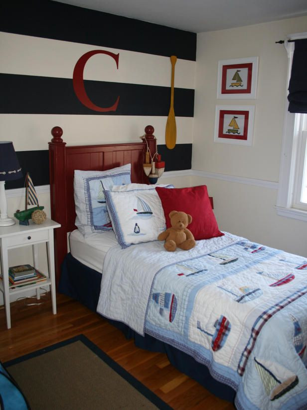 Fun Nautical Bedroom Decor Ideas Kids Rooms On A Bud Our 10 Favorites From Hgtv Fans