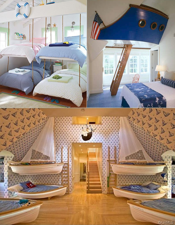 Fun Nautical Bedroom Decor Ideas Nautical theme Kids Room