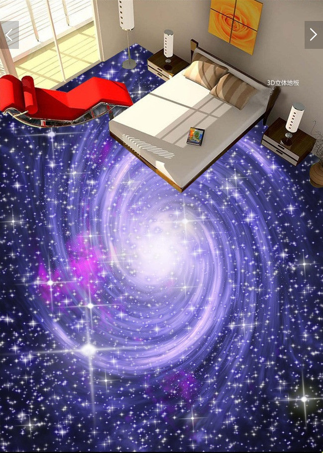 Galaxy Wallpaper for Bedroom Wdbh 3d Pvc Flooring Custom Photo Cosmic Starry Galaxy Self Adhesive Floor Wall Sticker Home Decor 3d Wall Murals Wallpaper for Living Room